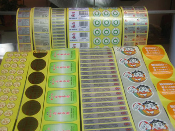 Flat And Roll Labels Stickers