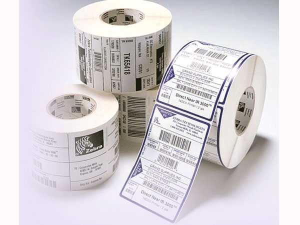 Printed Roll Labels
